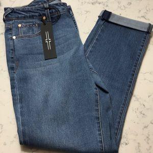 Liverpool tori girlfriend jeans